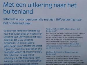 Met behoud van uitkering naar het buitenland - UWV - MariannA Bakker