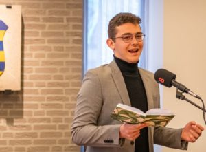 Thijs Kersten benoemd als dorpsdichter gemeente Heumen
